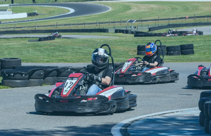 Go-Kart race challenges